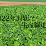 農家の2022年問題ってごぞんじでしたか?【不動産関連の難しい用語をざっくり説明するシリーズ】