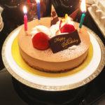 誕生日のお祝いランチ|みんなにありがとうを伝えたい日になりました